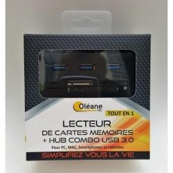 Lecteur de carte mémoire +...