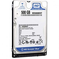 "HDD 2.5"" 500GO WESTERN DIGITAL"