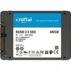 "SSD CRUCIAL 2.5"" 7mm BX500..."